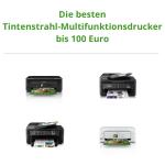 Die besten Tintenstrahl-Multifunktionsdrucker bis 100 Euro