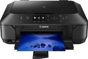 Canon MG6450 Multifunktionsdrucker Beispieldruck Frontansicht
