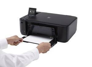 Canon Pixma MG4250 Druckerpapier des Druckers wechseln