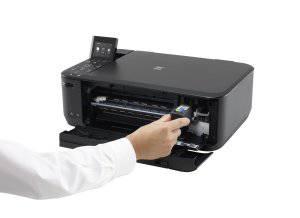 Canon Pixma MG4250 Druckerpatronen in Multifunktionsdrucker wechseln