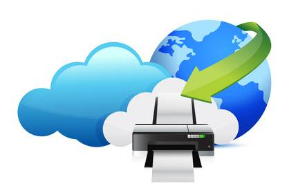 Multifunktionsdrucker über die Cloud verwenden