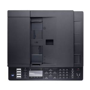 Dell C1765nfw Draufsicht des Multifunktionsdruckers