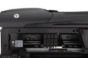 Druckpatronen Fach vom HP Deskjet 6700 Multifunktionsdrucker