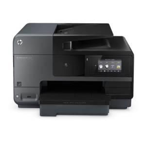 HP Officejet Pro 8620:  Front des Multifunktionsgerätes