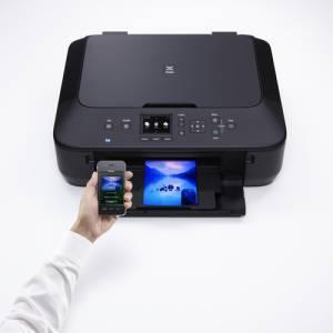 Zugriff über Apps auf das Multifunktionssystem Canon PIXMA MG5550