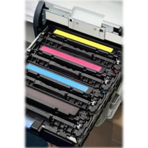 Laserdrucker Farbtoner-Einsatz