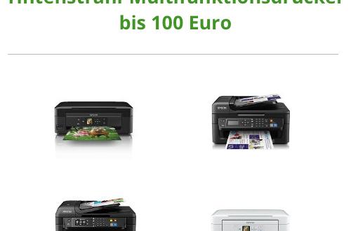 die besten tintenstrahl multifunktionsdrucker bis 100 euro. Black Bedroom Furniture Sets. Home Design Ideas